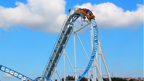 Vialand nefeskesen rollercoaster treni cesaret istiyor