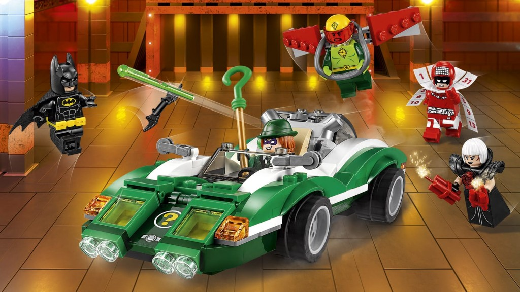 Lego Batman Riddler